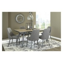 Ashley Dining Room Chairs Stool Chair Price List Set Of 2 Coverty Upholstered Side Light Brown Signature Design By Target