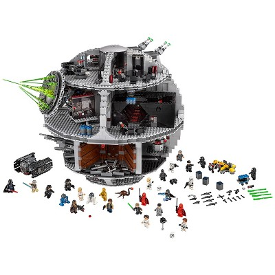 LEGO Star Wars Death Star 75159 Space Station Building Kit with Star Wars Minifigures for Kids and Adults