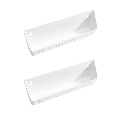 rev a shelf 6572 11 11 52 11 kitchen sink front tip out trays white 2 pack