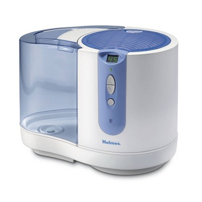 Cool Mist Humidifier with Shatterproof Water Tank White - Holmes