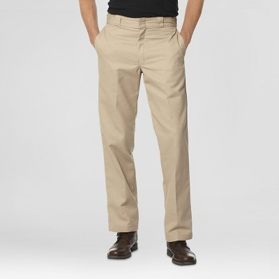 Dickies® Men's Regular Straight Fit Twill Work Pants with Extra Pocket