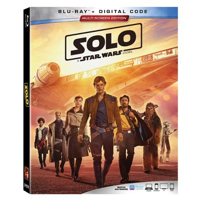 Solo: A Star Wars Story (2 Blu-Ray + Digital Code)