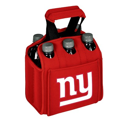 New York Giants - Six Pack Beverage Carrier by Picnic Time (Red)