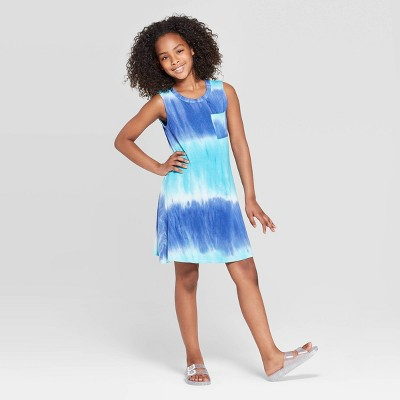 Girls' Pocket Tank Dress - art class™