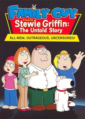 Game Of Thrones Family Guy : thrones, family, Family, Presents, Stewie, Griffin:, Untold, Story, (DVD), Target