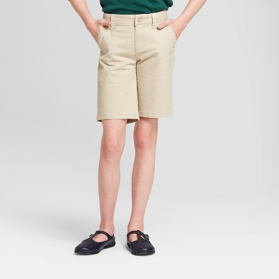 Girls' Chino Uniform Shorts - Cat & Jack™