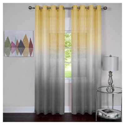 Rainbow Single Grommet Curtain Panel -  Achim