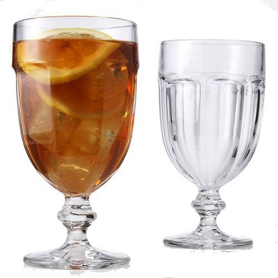 Gibraltar Iced Tea Glasses 16oz Set of 12 - Clear