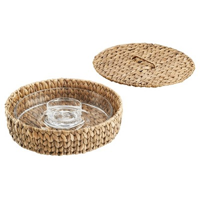 Artland® Garden Terrance Round 2pc Chip & Dip Serving Tray