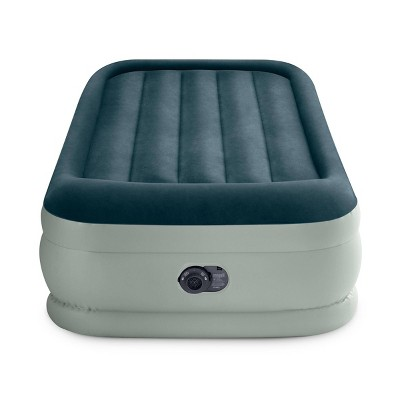 intex elevated 18 premium comfort twin air mattress with internal pump