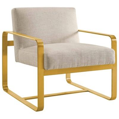 Astute Upholstered Fabric Armchair - Modway