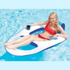 Pool Chair Floats Target Wood Floors Office Wheels Swimways Spring Float Recliner Floating Lounge 3 Pack 13018