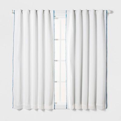 Loop Trim Blackout Window Curtain Panel - Pillowfort™