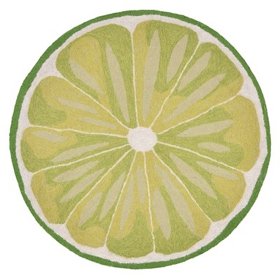 lemon kitchen rug countertop decorating ideas pictures lime slice liora manne target about this item