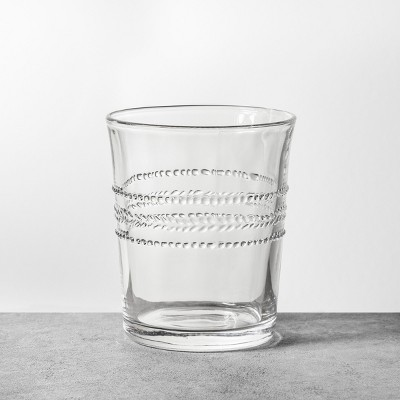 8oz Glass Cup Clear - Hearth & Hand™ with Magnolia