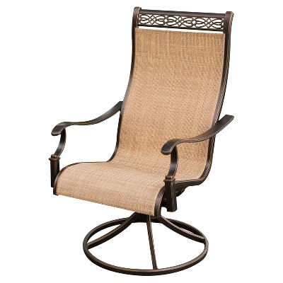 target sling chair tan mac sports folding monaco 7pc round metal dining set w swivel chairs 9 umbrella stand hanover