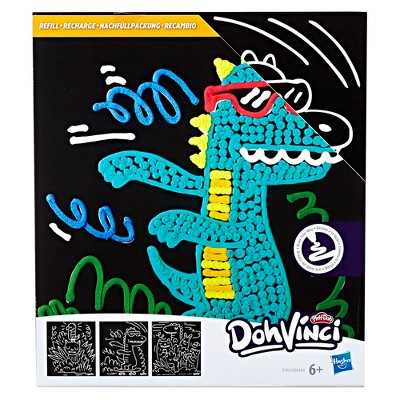 DohVinci Animal Doodle Art Boards by Play-Doh