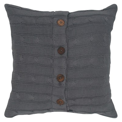 Sweater Knit Throw Pillow - Rizzy Home®