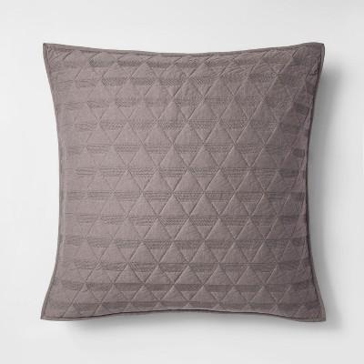 Triangle Stitched Jersey Pillow Sham - Project 62™ + Nate Berkus™