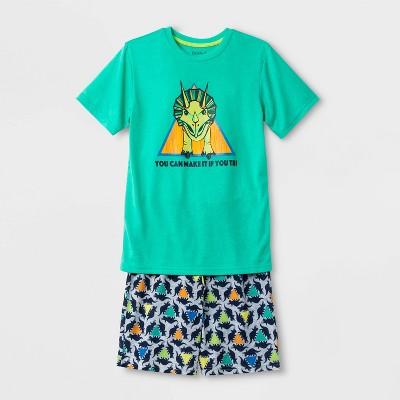 Boys' Dino Print Pajama Set - Cat & Jack™ Green