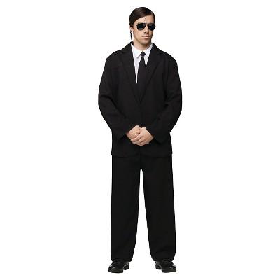 men s black suit