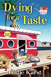 Dying For A Taste Hardcover Leslie Karst Target