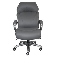 Serta Bonded Leather Executive Chair Reclining And A Half Big Tall Smart Layers Office Target