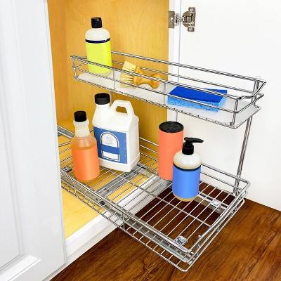 bathroom sink organizer target