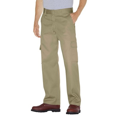 Dickies® Men's Relaxed Straight Fit Twill Cargo Work Pants