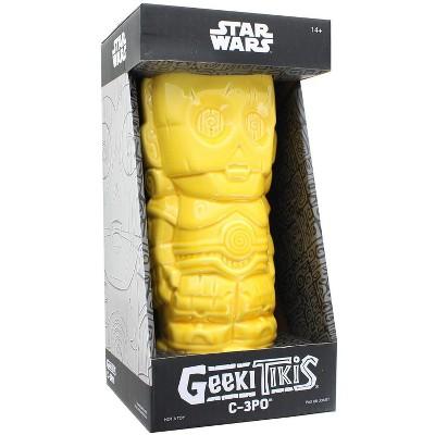 Geeki Tikis Star Wars C-3PO Mug   Crafted Ceramic   Holds 14 Ounces