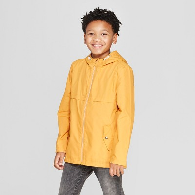 Boys' Long Sleeve Anorak Jacket - Cat & Jack™ Yellow