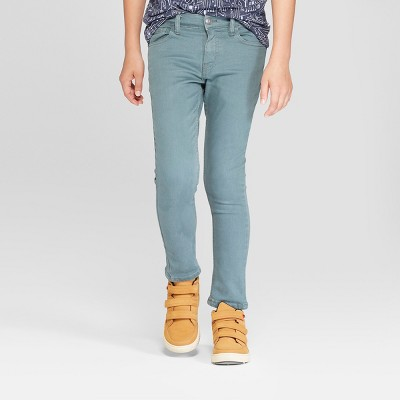 Boys' Skinny Fit Jeans - Cat & Jack™ Turquoise
