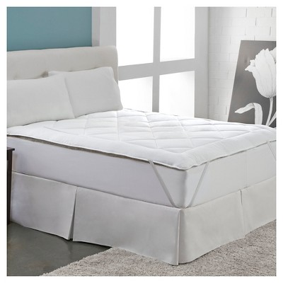 Cool Wool Reversible Mattress Topper - White