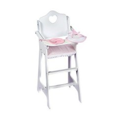 High Chair With Accessories Toddler Upholstered Ireland Badger Basket Doll Target