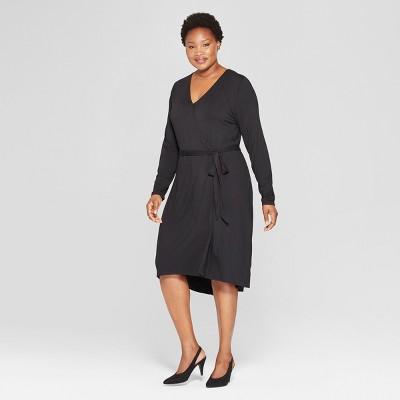 Women's Plus Size Wrap Dress - Ava & Viv™