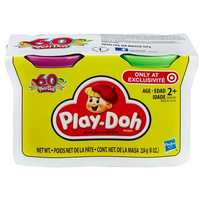 Play-Doh Retro 2pk : Blue and Orange