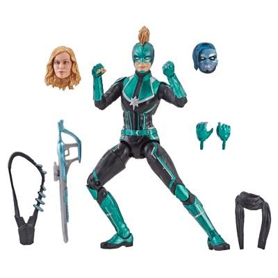 "Marvel Legends Series Captain Marvel Movie 6"" Captain Marvel (Star Force) Figure"