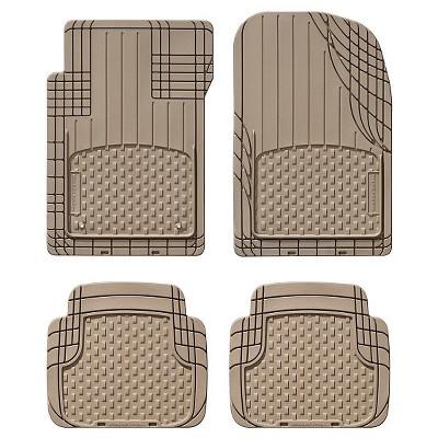 WeatherTech Tan Floor Mat 4-pk
