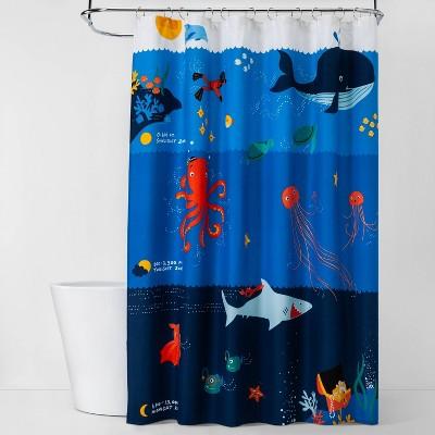 Underwater Adventure Shower Curtain - Pillowfort™