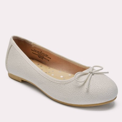 Girls' Stacy Ballet Flats - Cat & Jack™ White