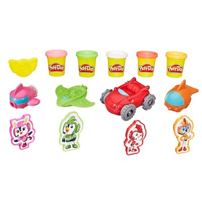 Nickelodeon Top Wing Cadet Creations Toolset with 5 Non-Toxic Play-Doh Colors