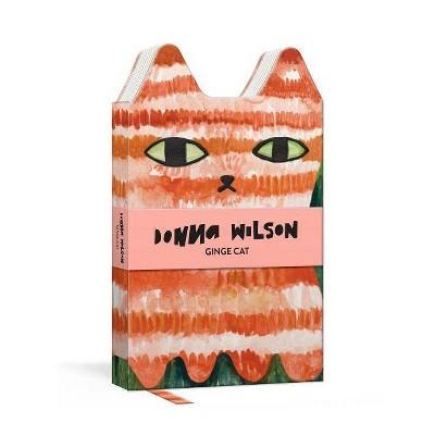 Ginge Cat Critter Journal -  (Pocket Butler) by Donna Wilson (Hardcover)
