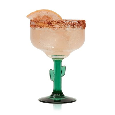 Libbey Cactus Margarita Glasses 16oz - Set of 4