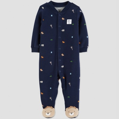 Baby Boys' Safari Sleep 'N Play - Just One You® made by carter's Navy