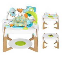Target Baby Chair And Table 16 Inch Round Bistro Cushions Evenflo Exersaucer 2 In 1 Activity Center