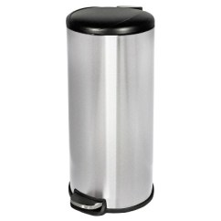 Stainless Steel Kitchen Trash Can Faux Brick Step Open Room Essentials Target About This Item