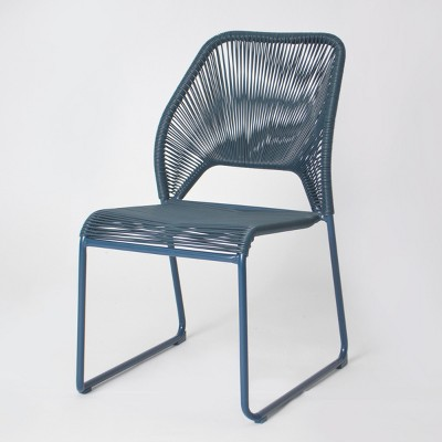 target blue chair office exercises for legs fisher patio dining project 62