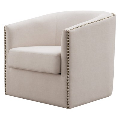 swivel upholstered chairs wheelchair unicode luna accent chair mibasics target