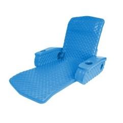 Pool Chair Floats Target Plastic Rail Moulding Trc Recreation Super Soft Adjustable Lounge Recliner Float Bahama Blue