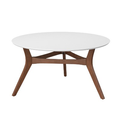 emmond two tone mid century modern coffee table project 62